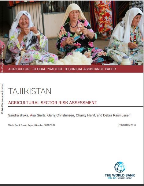 Tajikistan - Agricultural sector risk assessment